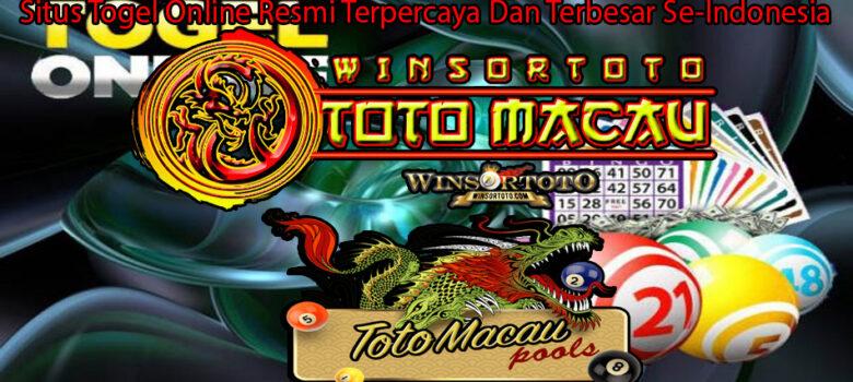 Situs Togel Online Resmi Terpercaya Dan Terbesar Se-Indonesia