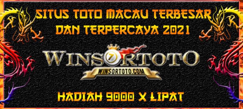 Situs Toto Macau Terbesar Dan Terpercaya 2021