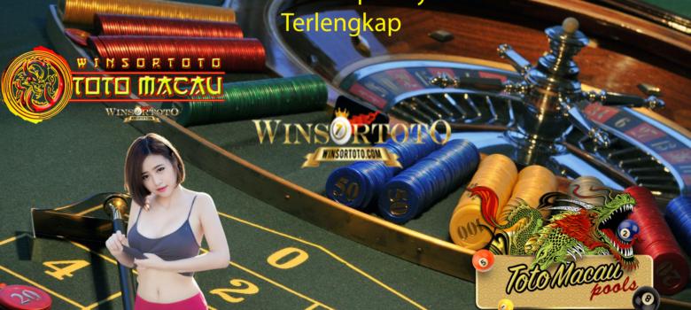 Situs Toto Macau Terbesar Terpercaya Permainan Casino Terlengkap
